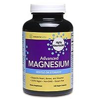 InnovixLabs Advanced Magnesium, 150 Capsules, High Absorption Magnesium Malate &...