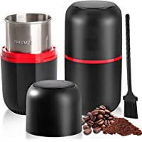 Necomi Coffee Grinder Electric, Spice Grinder with Cleaning Brush, 4.2oz/120g -Large Capacity,150w Powerful Stainless…