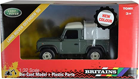 Teamsterz Die-cast 4x4 Land Rover Defender Farm Vehicles Toy For Aged 3+