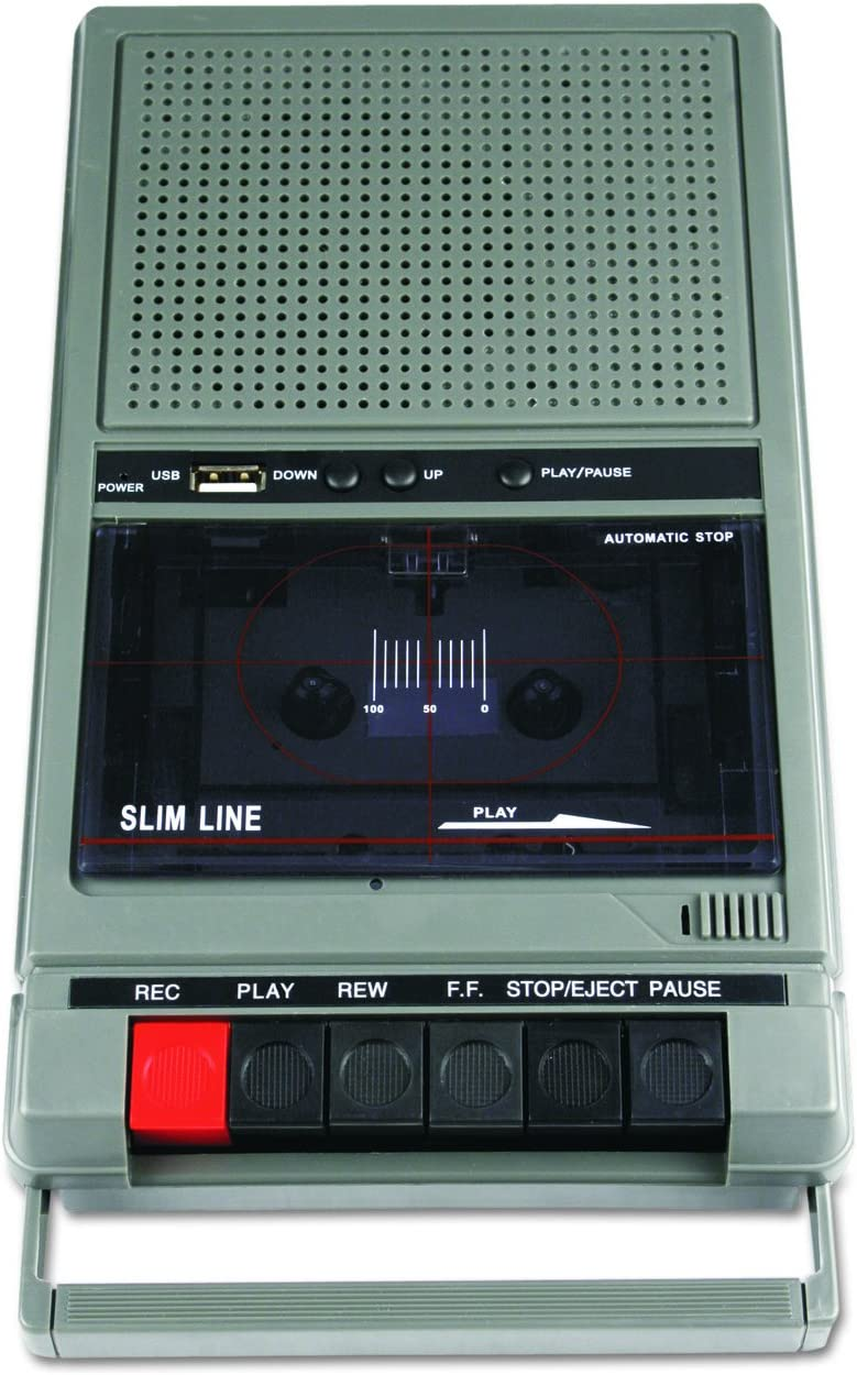 AmpliVox SL1039 Portable Cassette Player//Recorder and 6 Station Listening Center