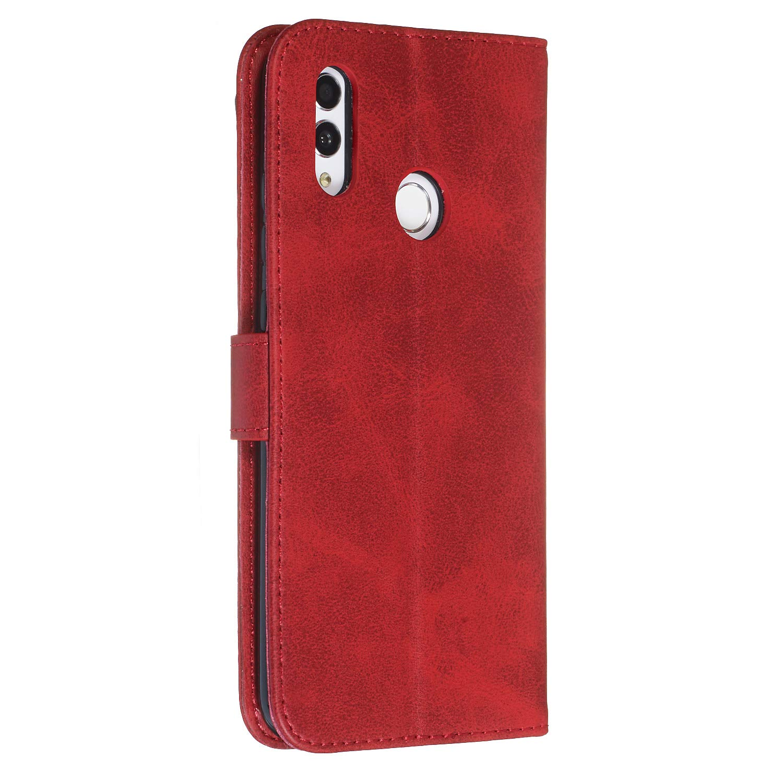 - DOYYO070162 Blu 2019 Docrax Huawei P Smart 2019 Leather Cover Custodia Portafoglio in Pelle Porta Carte Funzione di Stand Antiurto Wallet Case Flip Cover per Huawei P Smart