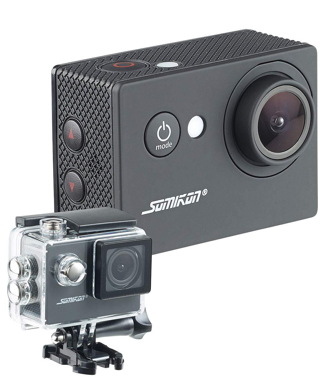 Somikon - Cámara de casco: HD de Action Cam DV de 1212 con ...