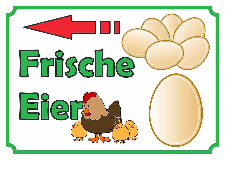 HB_Druck Cartel de venta Huevos izquierda - A1 (594x841mm ...