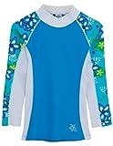 Amazon Price History for:Tuga Girls Long Sleeve Rash Guards 1-14 Years, UPF 50+ Sun Protection Swim Shirt