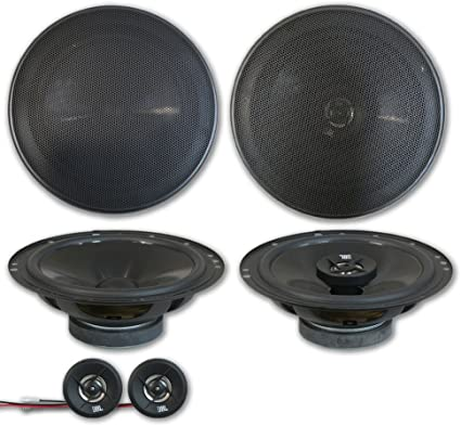 Pair JBL Stage 600C 6.5 Inch 50 Watt RMS Component Speaker System with Tweeter