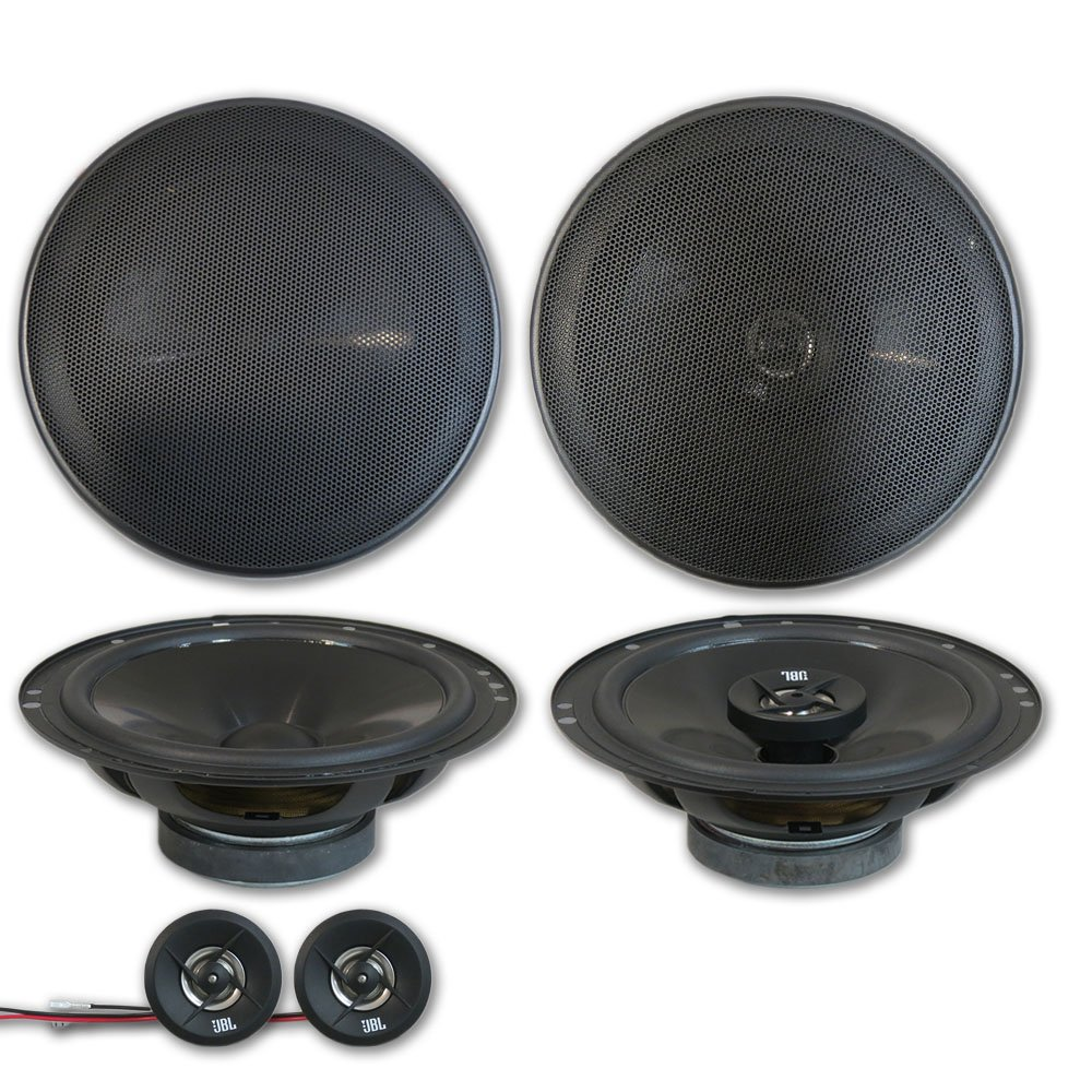 JBL Stage 6.5'' 2-way Car Component system + 6.75'' 2-way coaxial speakers (Pair)