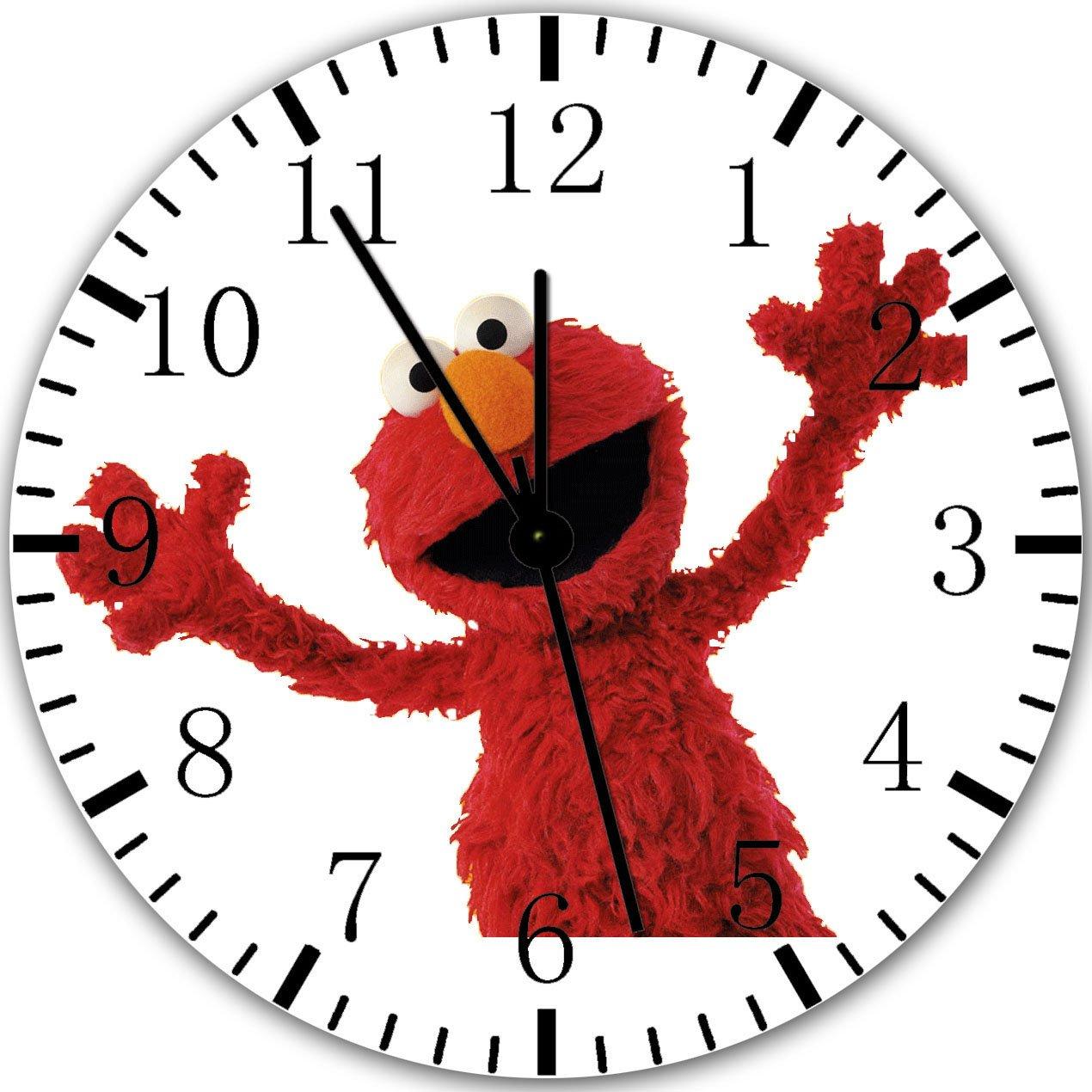 Elmo Sesame Street Frameless Borderless Wall Clock X31 Nice For Gift or Room Wall Decor