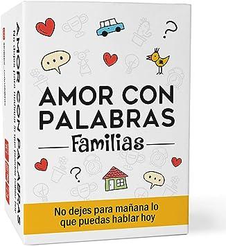 Comprar Amor con palabras - Familias | Juegos de Mesa para niños y Adultos Que fortalecen los vínculos Familiares creando Conversaciones de Calidad.