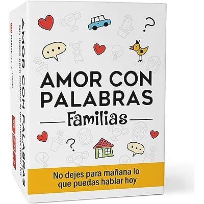 Amor con palabras - Familias | Juegos de Mesa para niños y Adultos Que fortalecen los vínculos Familiares creando Conversaciones de Calidad.
