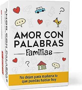 Amor con palabras - Familias | Juegos de Mesa para niños y Adultos Que fortalecen los vínculos Familiares creando Conversaciones de Calidad.: Amazon.es: Juguetes y juegos