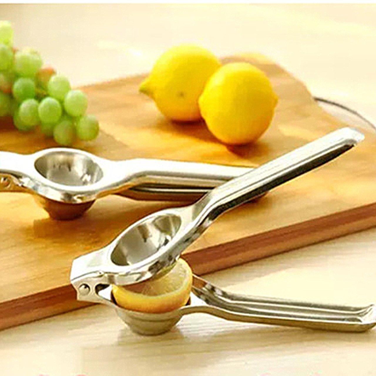 Nikgic de Jugo de Lim/ón Clip de Pinza de Cocina de Calidad Alimentaria Acero Inox Recogedor de Hielo de las Pinzas Clip de Comida