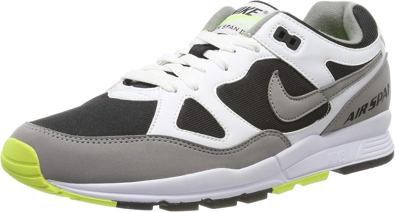 Schwarz (Schwarz  Weiß  Grau 101) 42.5 EU Nike Herren Air Span Ii Turnschuhe