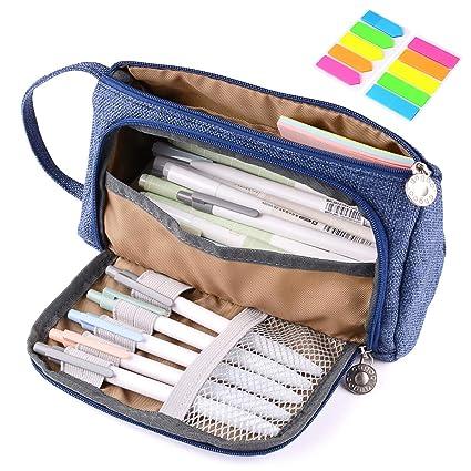 Yloves - Estuche para lápices, gran capacidad, organizador ...
