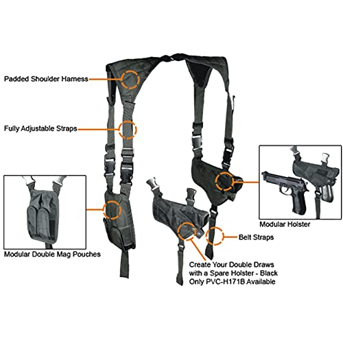 Deluxe Universal Horizontal Shoulder Holster review