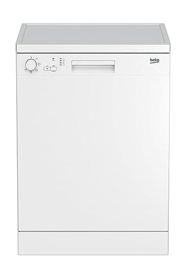 Beko DFN05210W lavavajilla Independiente 12 cubiertos A+ - Lavavajillas (Independiente, Blanco, Tamaño completo (60 cm), Blanco, Botones, Giratorio, ...