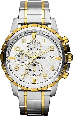 8265a94db Fossil Casual Watch Analog Display Quartz for Men FS4795 Black (45 mm)