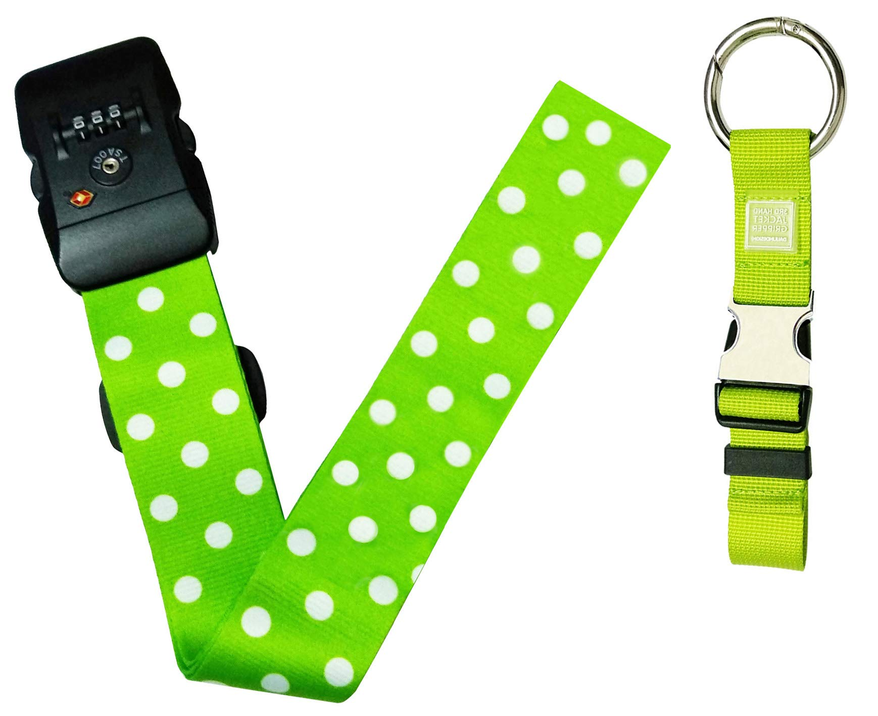 Luggage Strap Travel Suitcase Straps Belts Add-A-Bag Jacket Gripper Holder Baggage TSA Lock Belt by Lucky Xiang