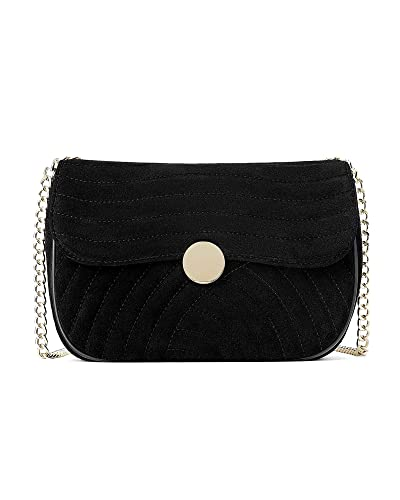 8f8a97198c1 Zara Women's Quilted leather crossbody bag 1417/004: Amazon.co.uk ...