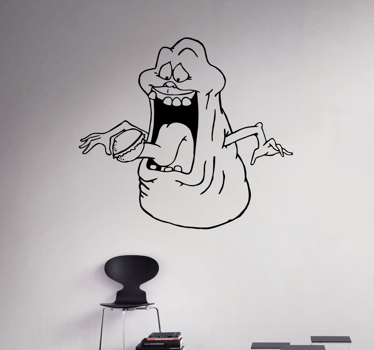 Amazon Com Ghostbusters Slimer Wall Vinyl Decal Animated Series
