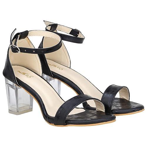 casual black heels