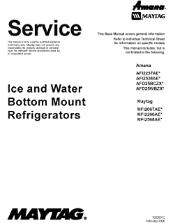 maytag mfi2568aes service manual