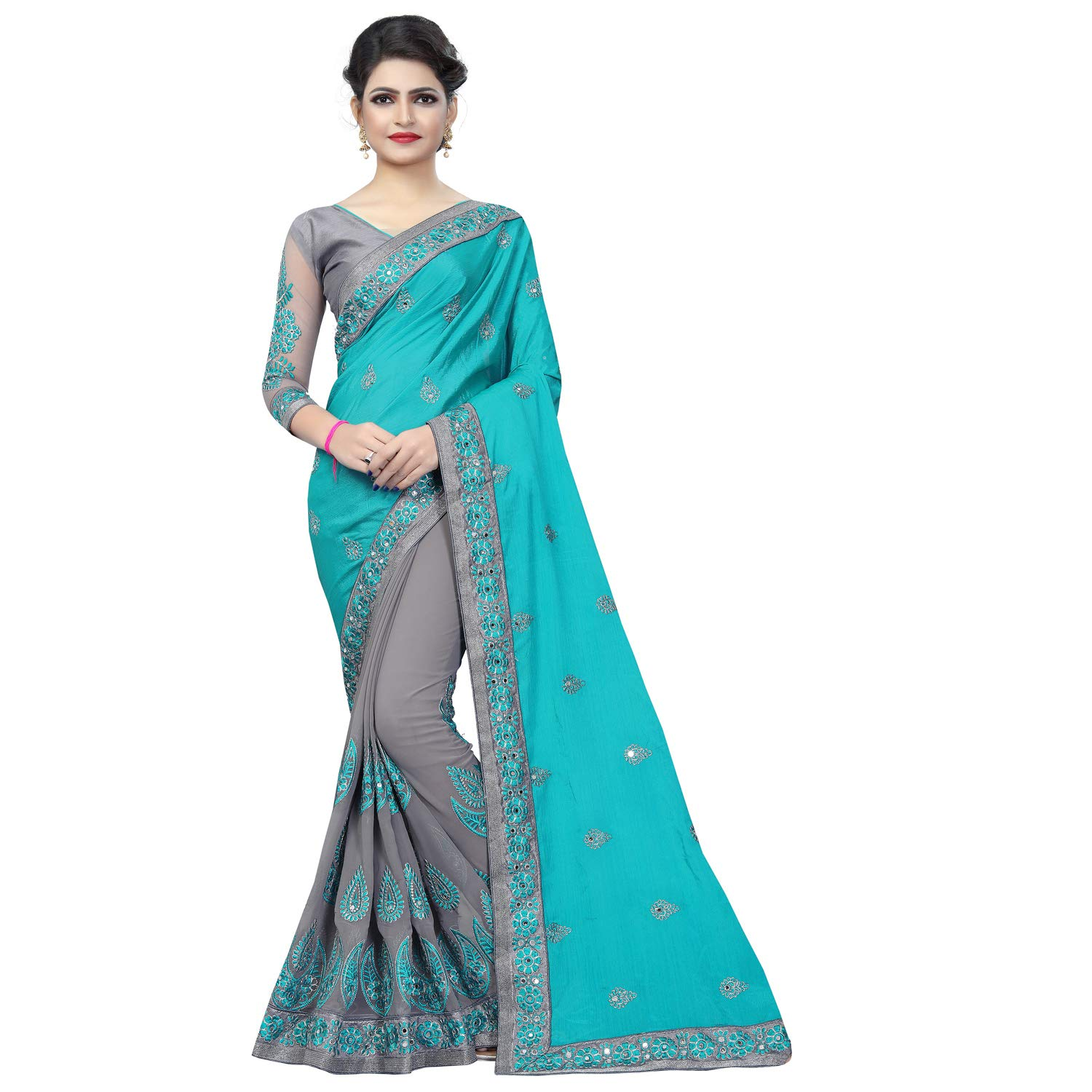 Best Choice Georgette Saree with blouse piece