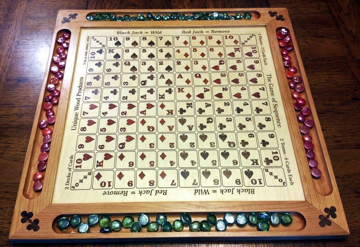 Inlaid Sequence Board