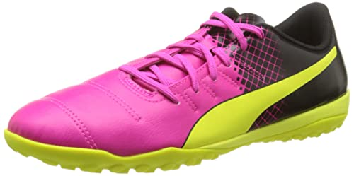 fc424af8a Puma Men s s Evopower 4 3 Tt Football Boots Rose (Pink Glo Safety Yellow