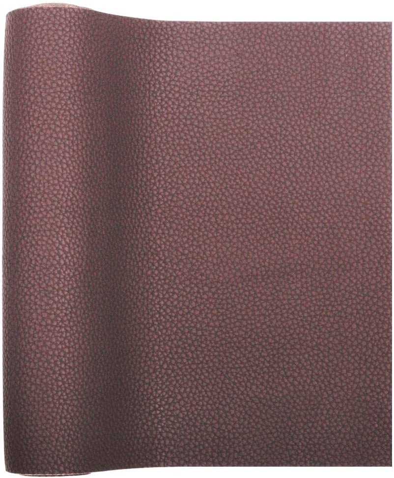 Thick Solid Colors Leather Sheet Perfect for Making DIY Crafts Small Litchi Grain David Angie Litchi Pattern Faux Leather Fabric Sheet 16 PCS 8 x 13 20 cm x 34 cm