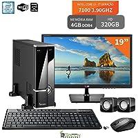 Computador Com Monitor 19 LG Intel Core I3 7100 4Gb Ddr4 320Gb Wifi 3Green Evolution Desktop