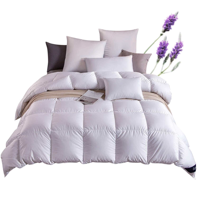 Globon Medium Warmth Down Comforter, Lavender Scented