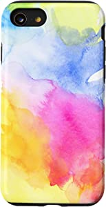 iPhone SE (2020) / 7 / 8 Retro Water Tie Dye Phone Cover Phone Holder For Summer Case