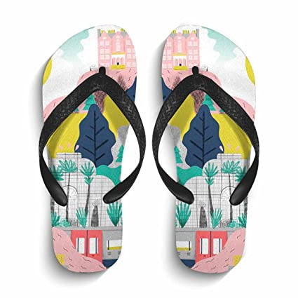 1c33fcb3ed15b3 Image Unavailable. Image not available for. Color  Chad Hope Women Stylish Beach  Flip Flops Summer Flip Flop Sandals   Slippers