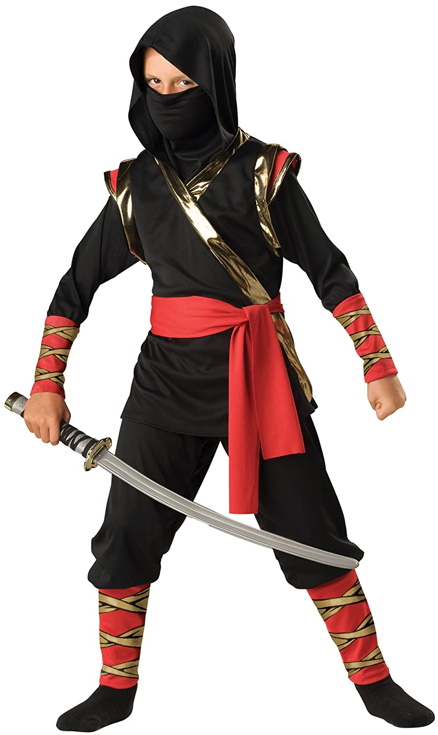 In Character Costumes 180941 Ninja Child Costume Size: 4