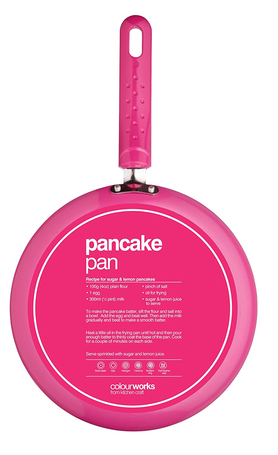 Amazon.com: Kitchencraft Colourworks Non-stick Crepe Pan ...