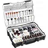 TACKLIFE Rotary Tool Accessories Kit 361 Pieces 1/8-inch Diameter Shanks Universal Fitment for Easy Cutting, Grinding…