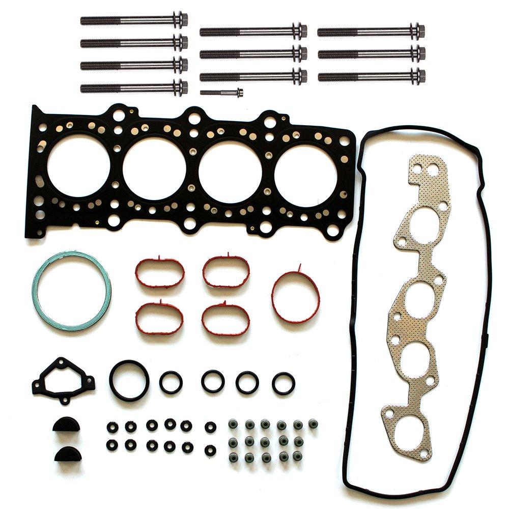 ECCPP Head Gasket Set w//Head Bolts for 07 08 09 Suzuki SX4 DOHC 2.0L Head Gaskets Kit 807323-5211-1823491
