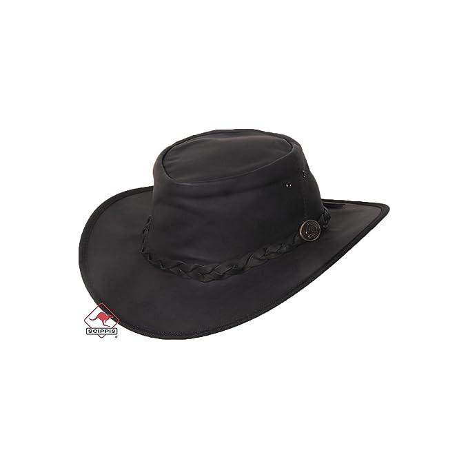Sombrero Piel Dawson Kangaroo by Scippis sombrero de solsombrero de piel  sombrero de sol  Amazon.es  Ropa y accesorios 7b7644aa752