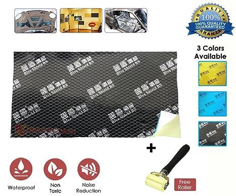 Alfombrilla de espuma de Deadener Super Dash con paneles ignífugos de aluminio