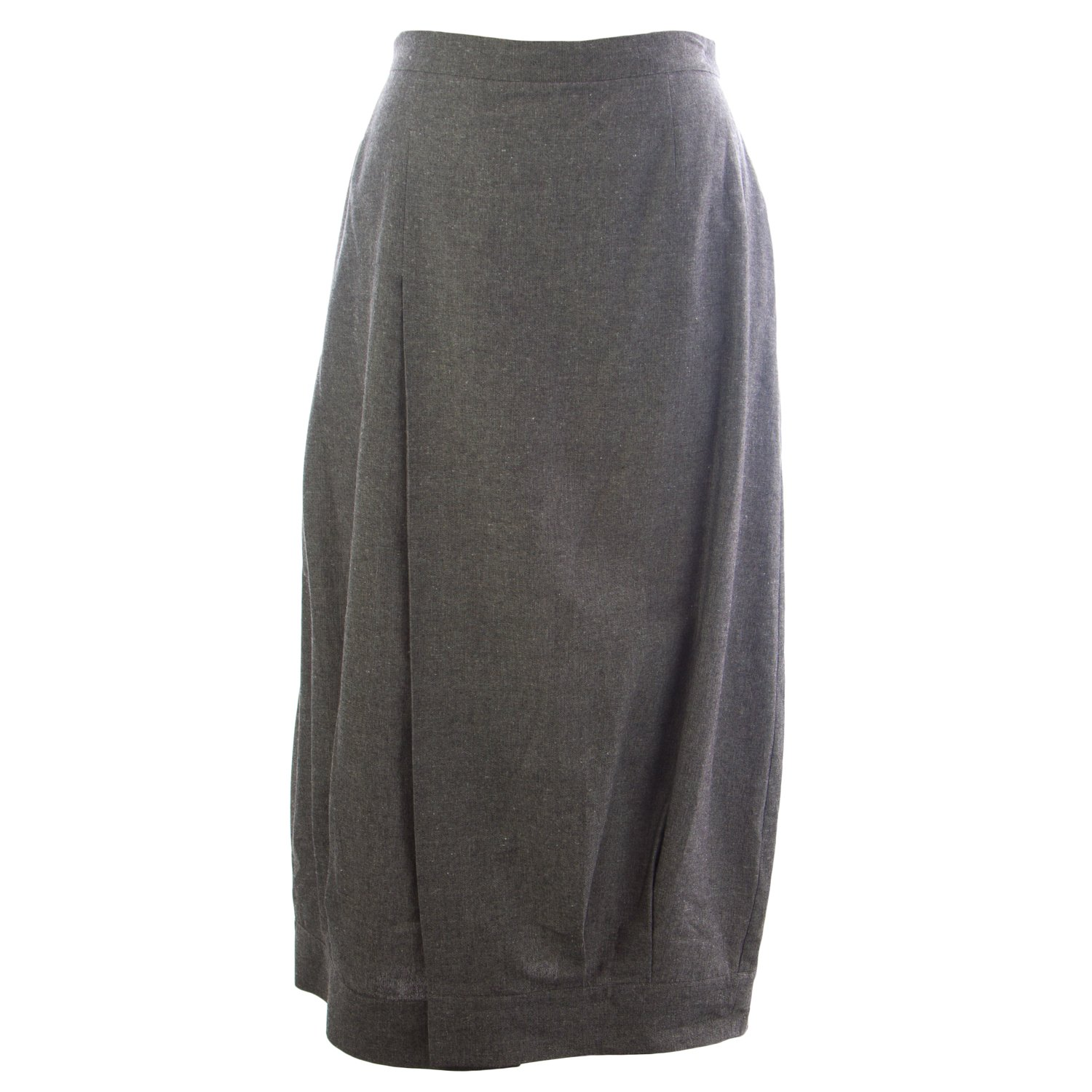 Marina Rinaldi Women's Cocco Loose Pencil Skirt 20W / 29 Grey