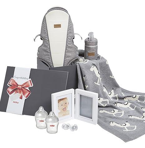 Nuby Baby Shower - Set de regalo para recién nacido y recuerdo ...