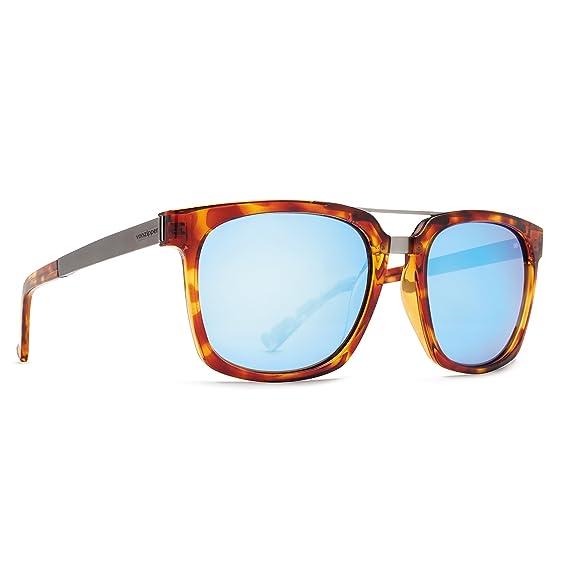 8ea3a22a36436 Von Zipper Plimpton Havana Tortoise Ice Blue Chrome Sunglasses   Amazon.co.uk  Clothing