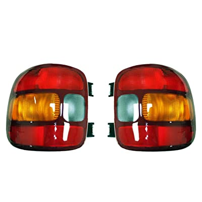 NEW TAIL LIGHT PAIR COMPATIBLE WITH GMC SIERRA 1500 STEPSIDE BED 1999-03 15224277 19169012 15224276 19169013 GM2801136 GM2800136: Automotive [5Bkhe1512719]