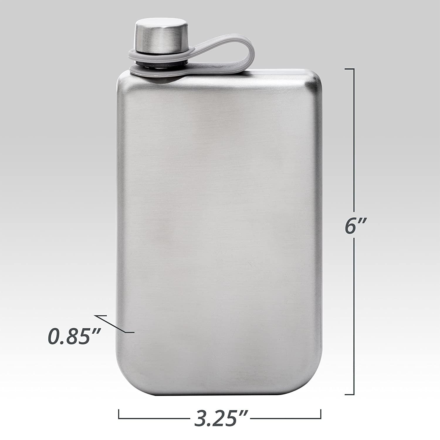 Scotch Vodka Whiskey Rum 8oz Hip Flask /& Funnel Set Stainless Steel Pocket Container for Drinking Liquor e.g can be Engraved VonWulf Rust /& Leak Proof Discreet Alcohol Canteen