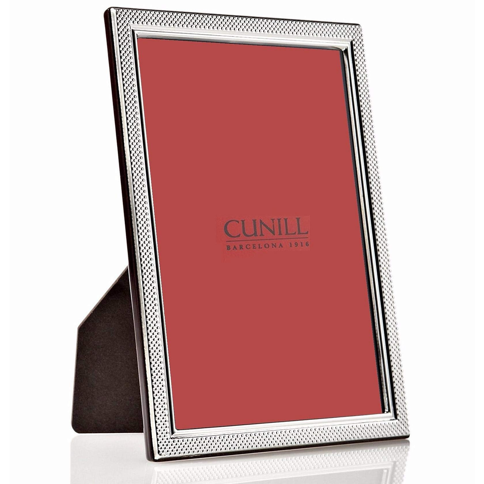 Droplets Fine Sterling Silver 5x7 Frame by Cunill(r) - 5x7 by Cunill Silver(r)