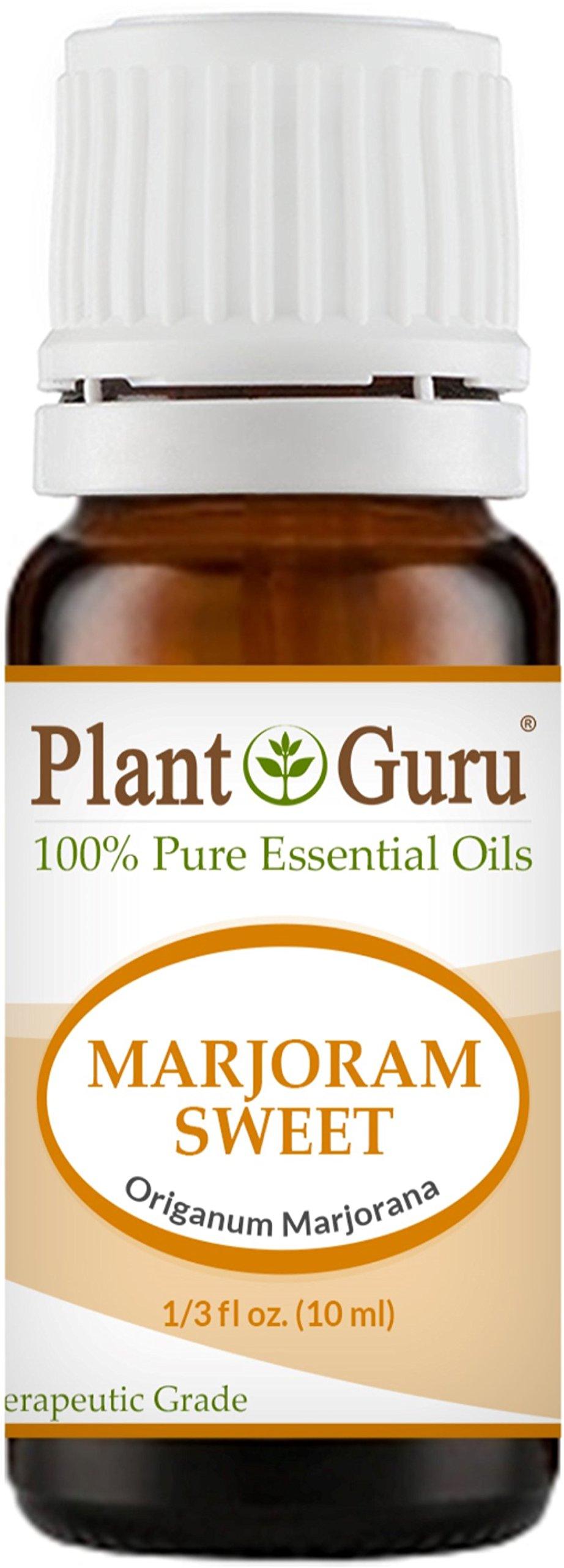 Marjoram Sweet Essential Oil 10 ml. 100% Pure Undiluted Therapeutic Grade.