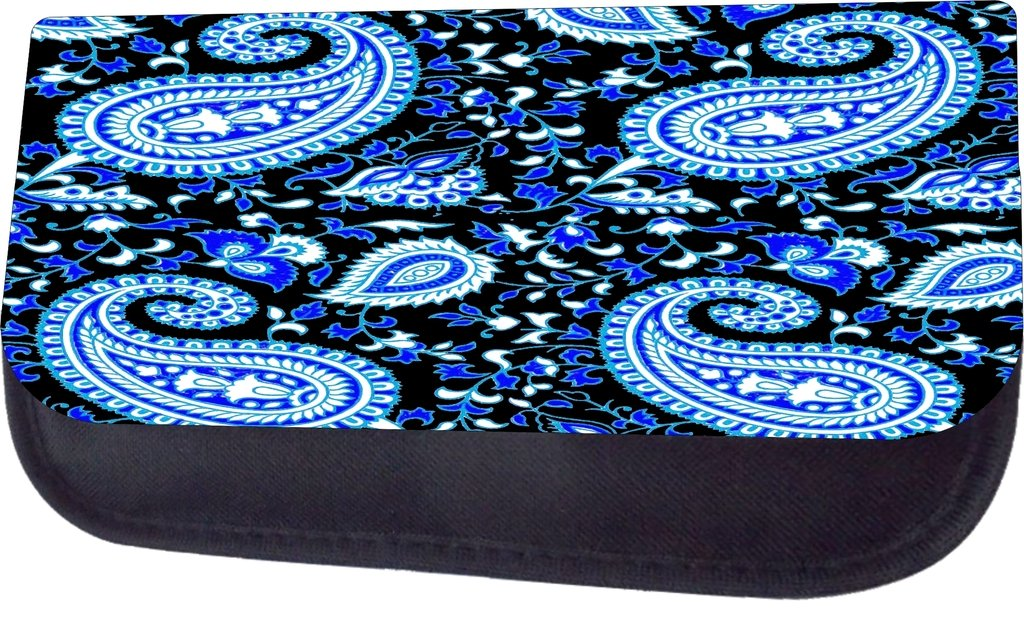 Pencil Case Set Blue Paisley TM School Messenger Bag