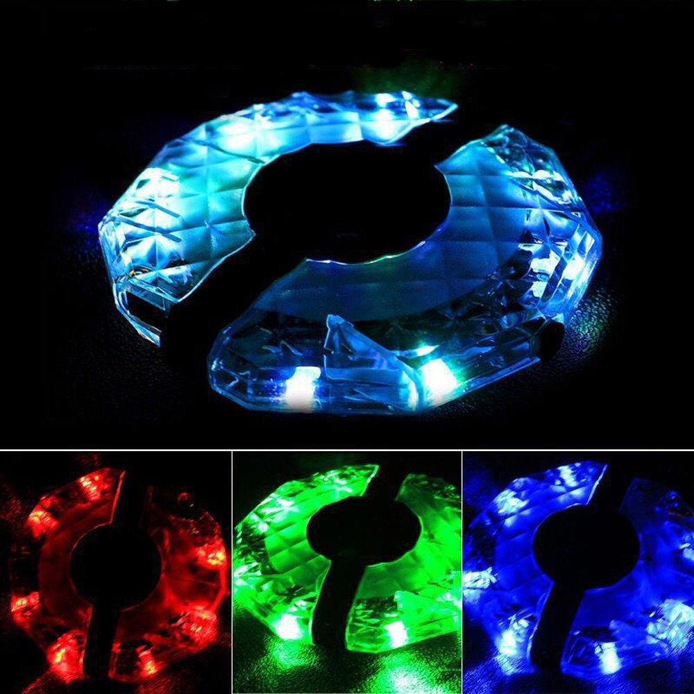 Bicicleta flores tambor luz vimmor 7/LED USB Bater/ía para bicicleta rueda habl/ó luz bicicleta luz de seguridad luz 4/tipos de luces con 12/Modos proteger y decorar ruedas en la oscuridad