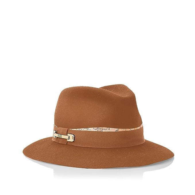 Alviero Martini - Sombrero de Vestir - para Mujer Marrón Tabaco Talla única   Amazon.es  Ropa y accesorios 8fdcdaab113