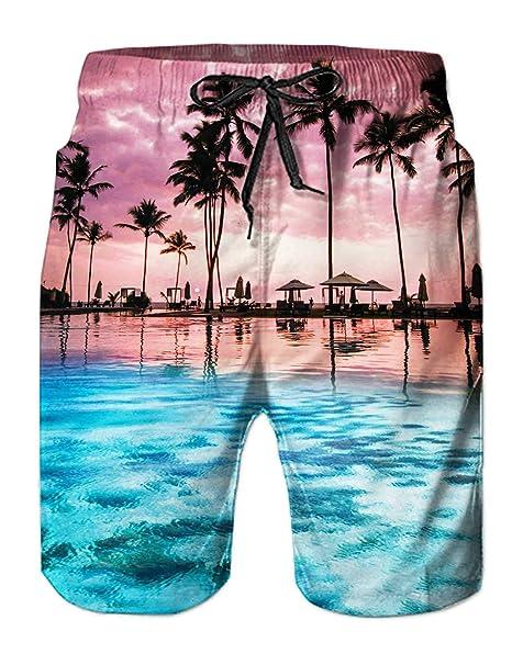 AIDEAONE Hombres Hawai Manga Corta Camisa Ropa de Playa Camisa de Botones   Amazon.es  Ropa y accesorios cd226369ef6
